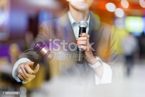 1050485096 istock photo The concept of the auction. 1185003561