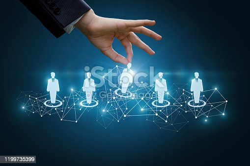 641422198istockphoto The concept of the choice of the candidate. 1199735399