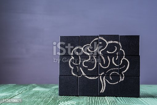 585087100istockphoto The concept of the human brain. Education, science and medical concept. 1125706671