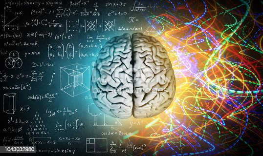 585087100 istock photo The concept of the human brain. 1043032980