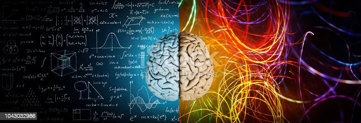 istock The concept of the human brain. 1043032986