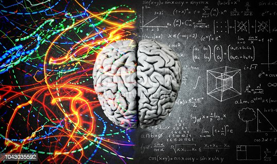 585087100 istock photo The concept of the human brain. 1043035592
