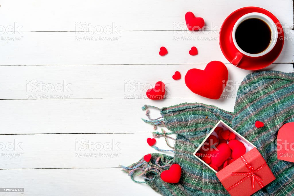 The concept of Valentine Day. royalty-free stock photo
