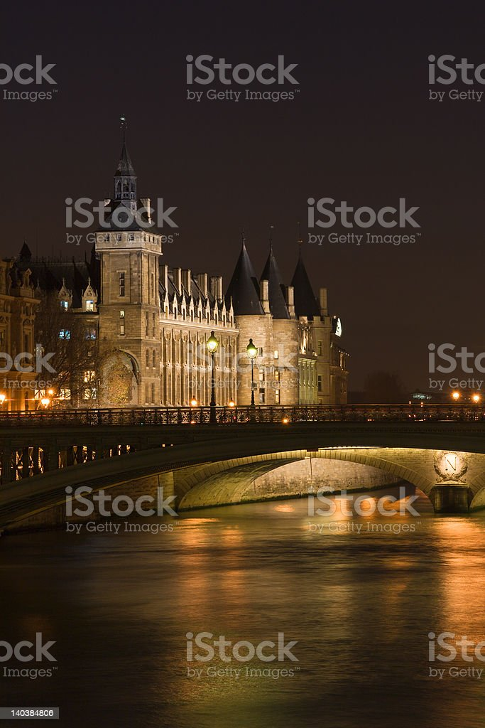 La Conciergerie royalty-free stock photo