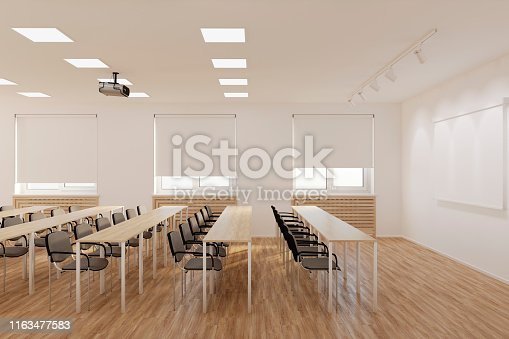 istock The conference hall. 1163477583