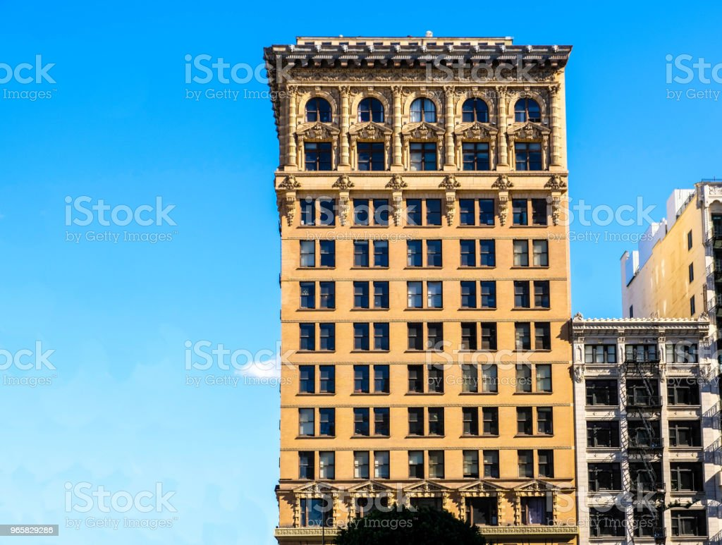 The Continental Building. DTLA - Стоковые фото Архитектура роялти-фри