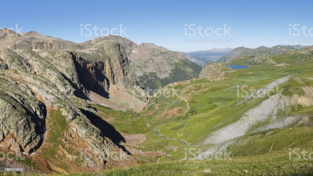 The Continental Divide in Colorado, USA royalty-free stock photo