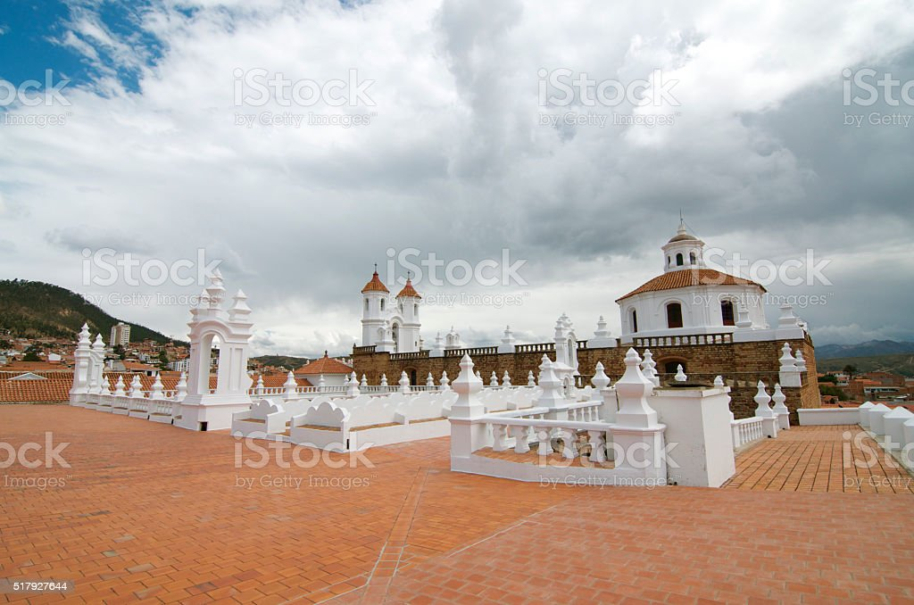 The Convent of San Felipe Neri stock photo