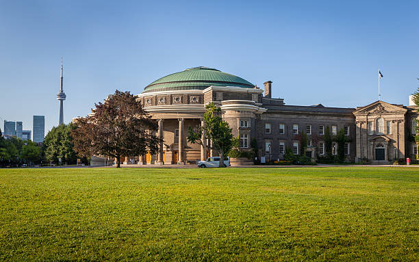 The Convocation Hall of the University of Toronto stock photo