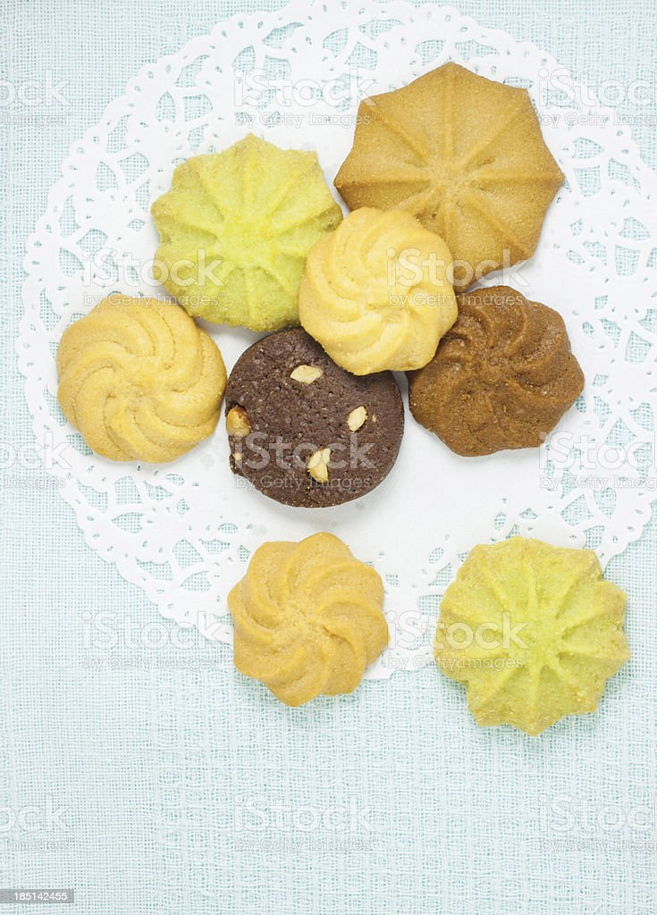 The cookies royalty-free stock photo