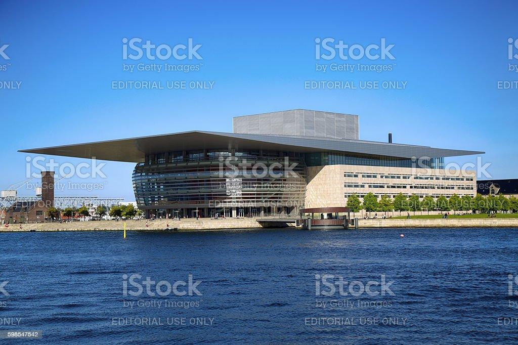 The Copenhagen Opera House in Copenhagen, Denmark photo libre de droits