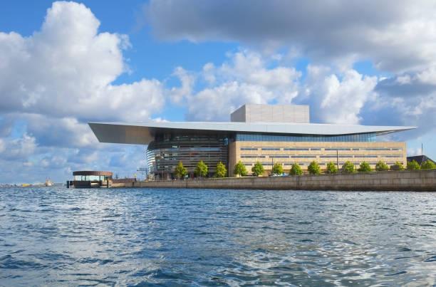 Das Copenhagen Opera House (Operaen) in Kopenhagen. – Foto