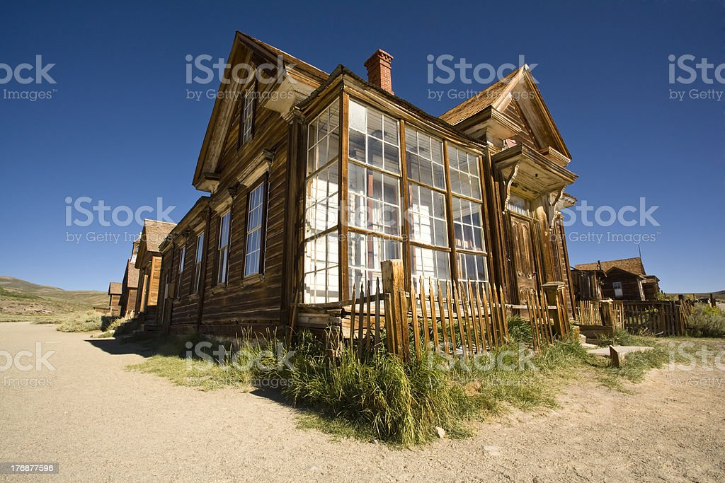 The Corner House stock photo