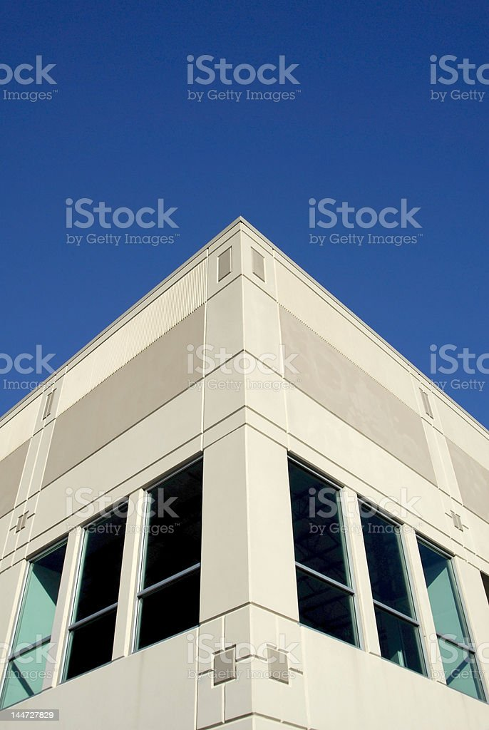 The Corner Office stock photo