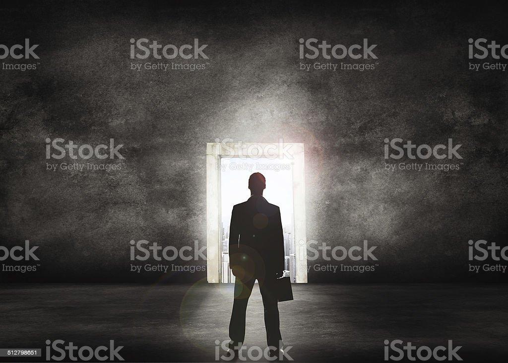 O mundo corporativo acena - foto de acervo