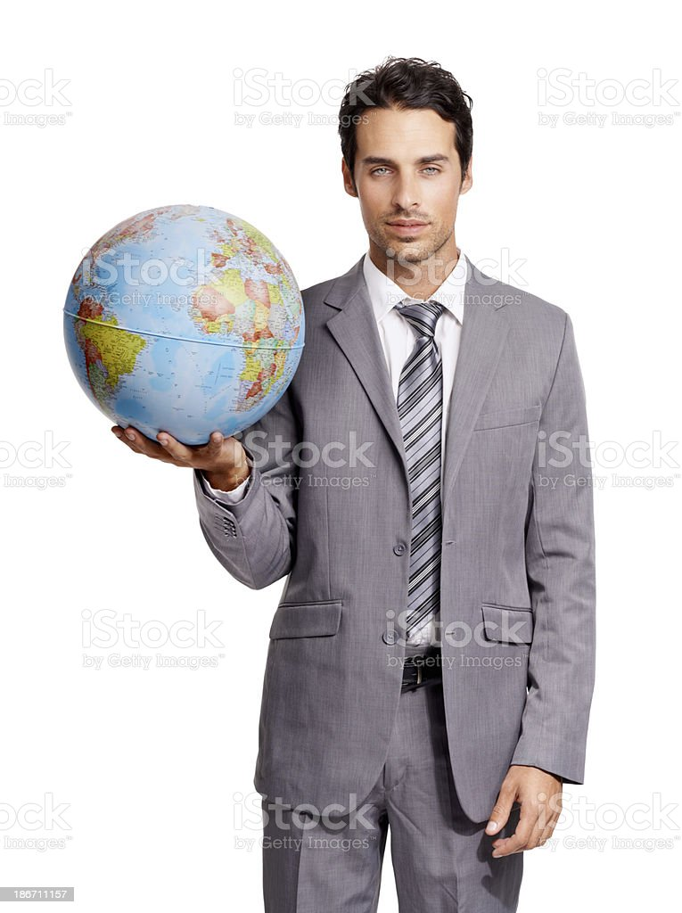 The corporate world is my oyster royalty-free stock photo