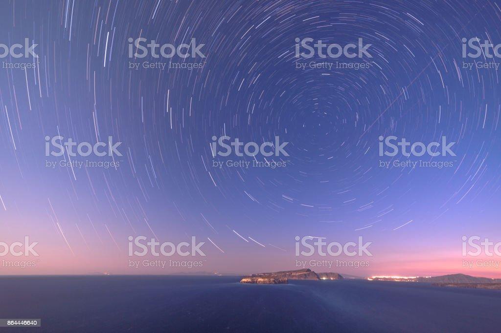 The cosmic clock stock photo