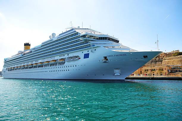Die Costa Fascinosa Kreuzfahrt-Touristen – Foto