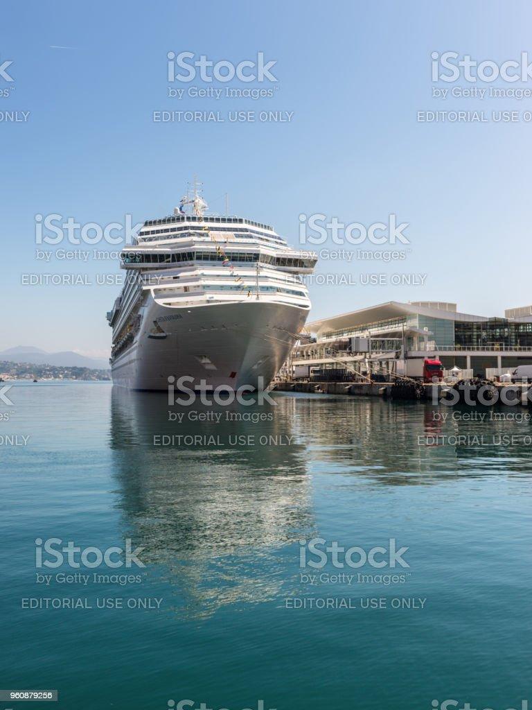 The Costa Favolosa cruise ship stock photo