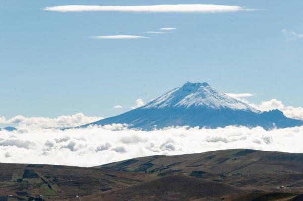 The Cotopaxi Volcano, Ecuador stock photo