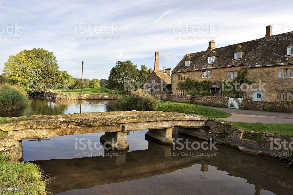The Cotswolds royalty-free stock photo