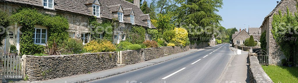 The Cotswolds village royalty-free stock photo