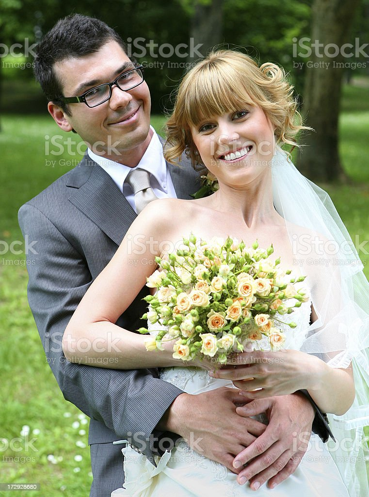 the couple royalty-free stock photo