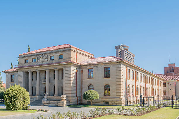 The Court of Appeal in Bloemfontein stock photo