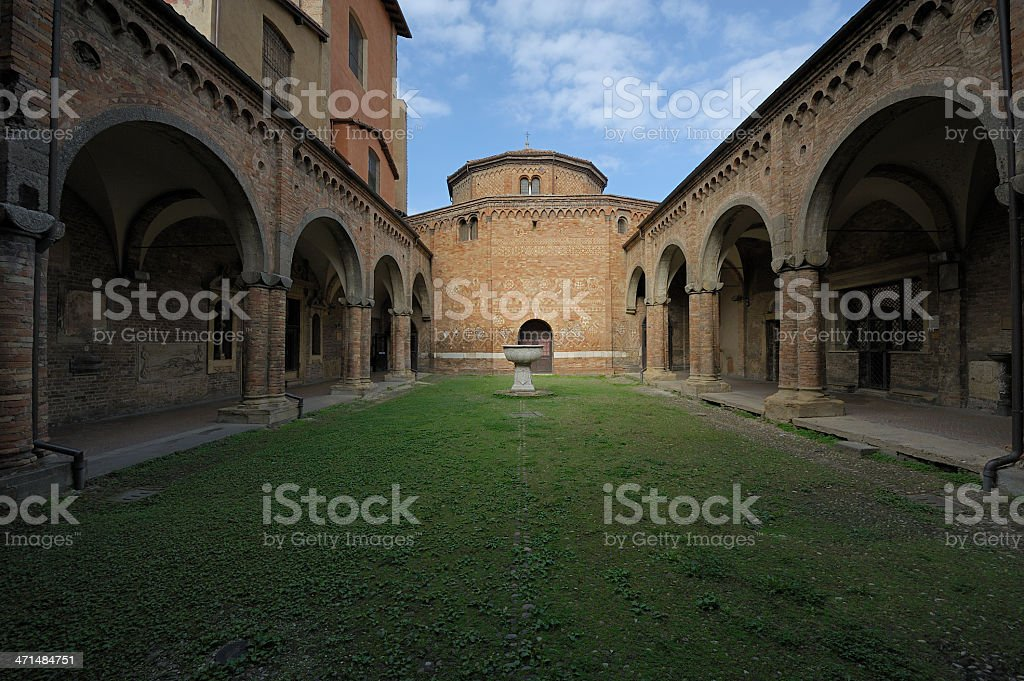 The Courtyard of Pilate royalty-free stock photo