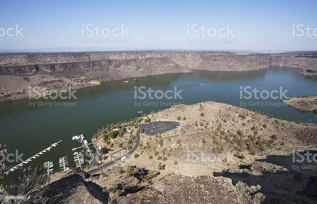 The cove palisades state park royalty-free stock photo