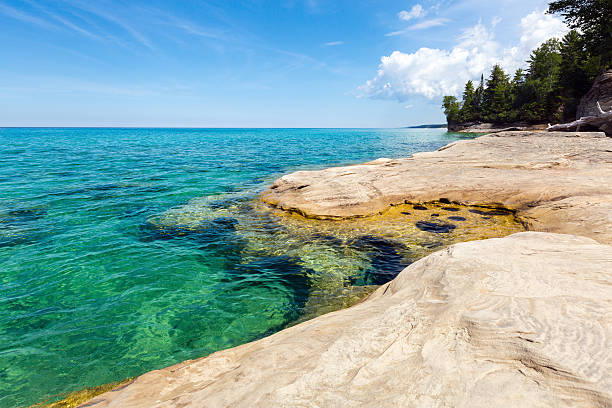 The Coves Lake Superior at Pictured Rocks National Lakeshore, Michigan