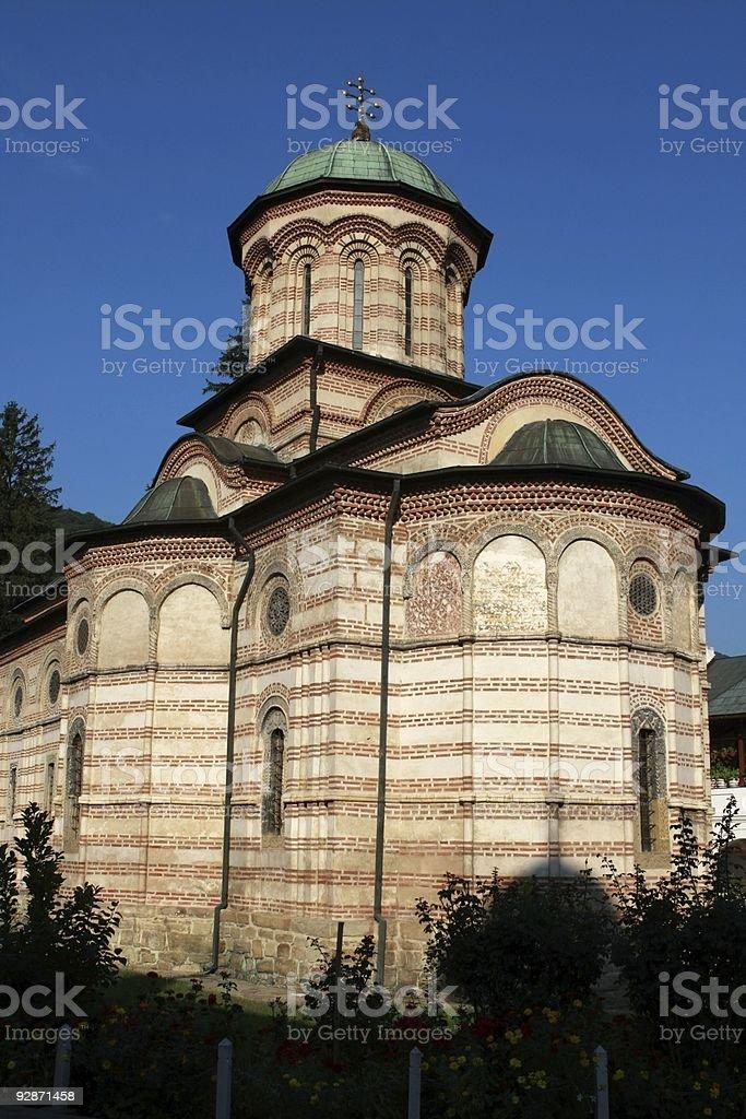 The Cozia monastery, Romania royalty-free stock photo