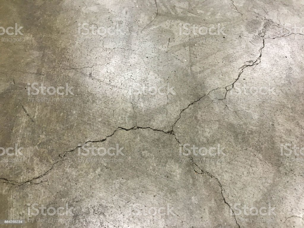 The crack floor in my office royalty-free stock photo