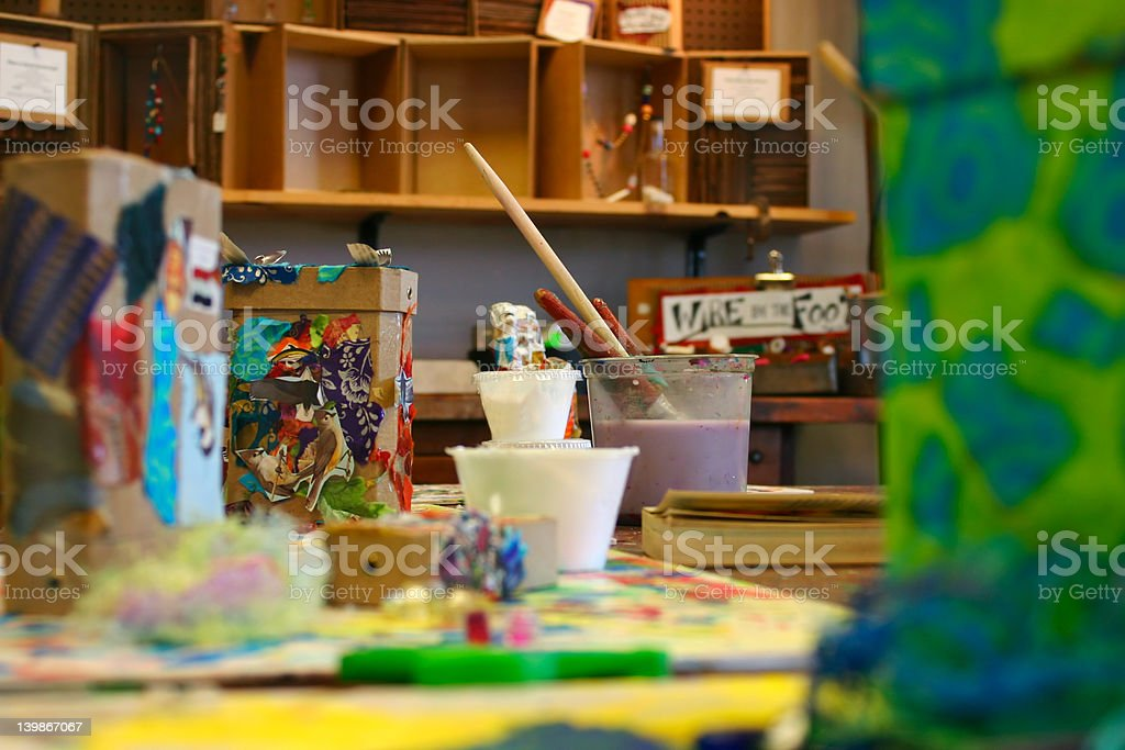 The craft store stock photo