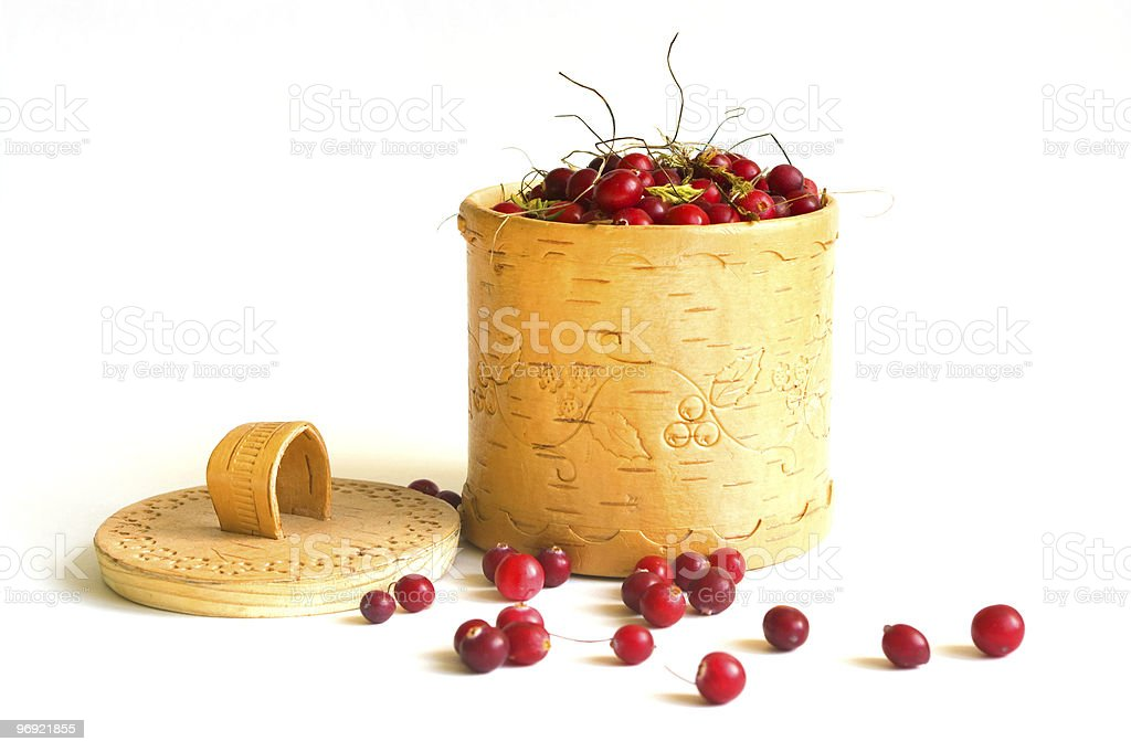 the Cranberry royalty-free stock photo