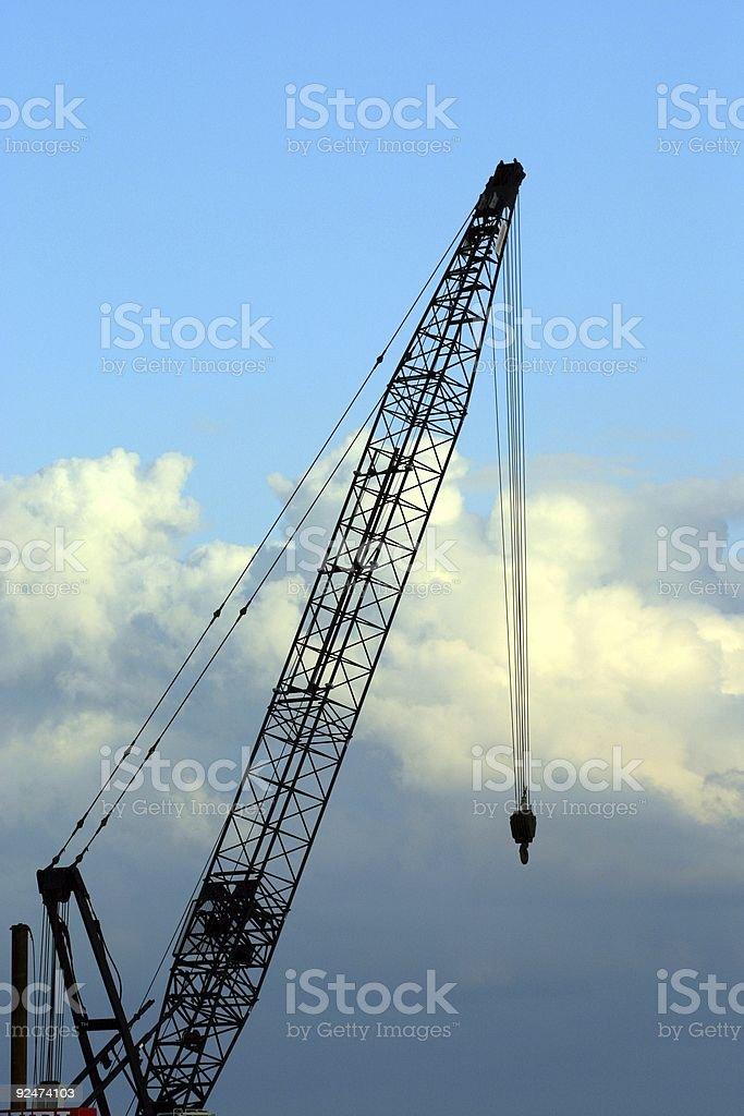 The Crane royalty-free stock photo