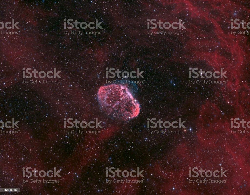 Der Crescent Nebel - NGC 6888 in Cygnus – Foto
