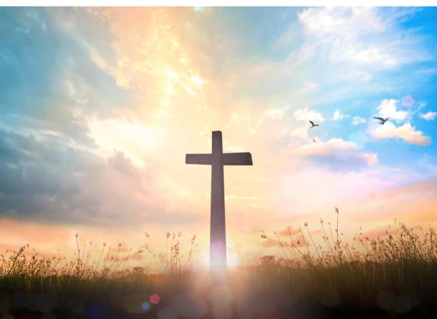 la croix - jesus croix photos et images de collection