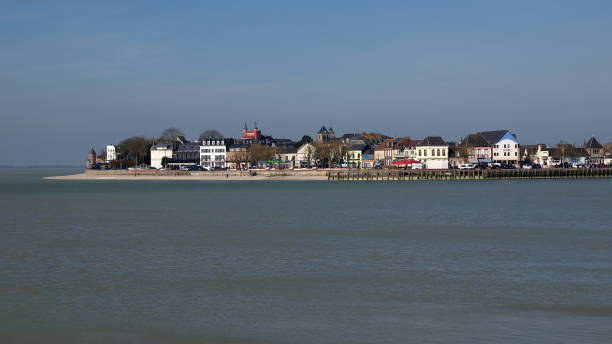 Le Crotoy côte Picarde somme stock pictures, royalty-free photos & images