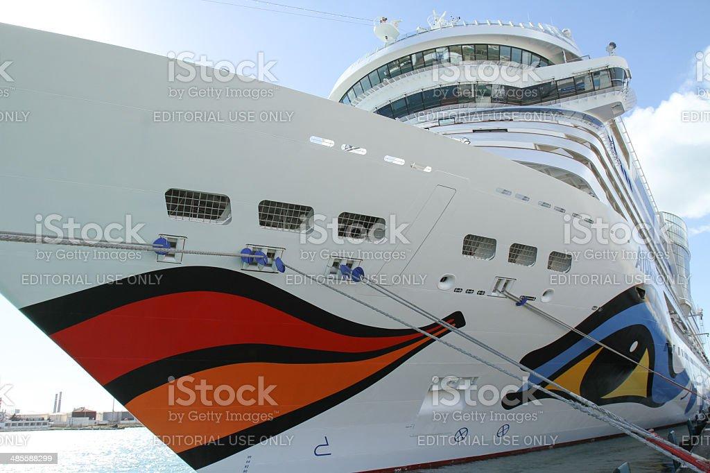 Das Kreuzfahrtschiff AIDA SOL in Tunesia – Foto