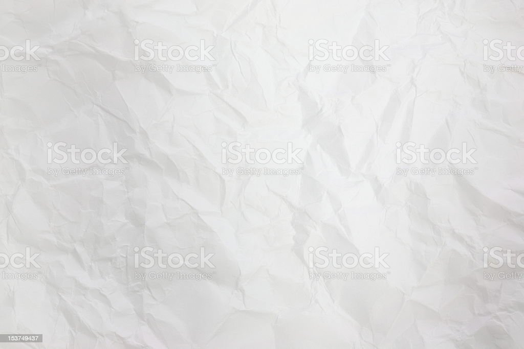 the crumpled paper background texture royalty-free stock photo