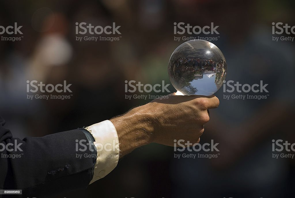 The Crystal Ball royalty-free stock photo