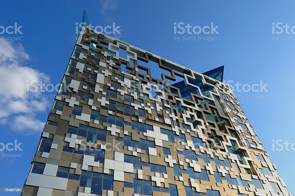 The Cube, Birmingham stock photo