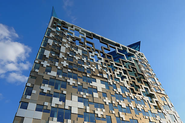 The Cube, Birmingham stock photo