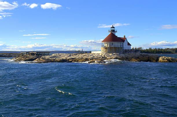 The Cuckolds Lighthouse, Maine USA – Foto