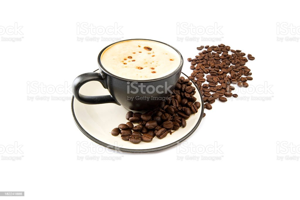 the cup of coffee royalty-free stock photo