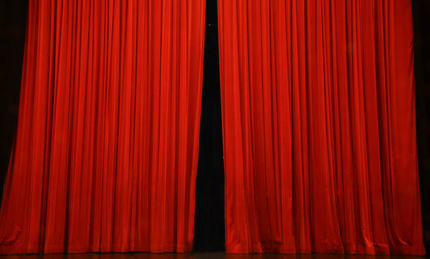 the curtain opens, the show is about to begin
