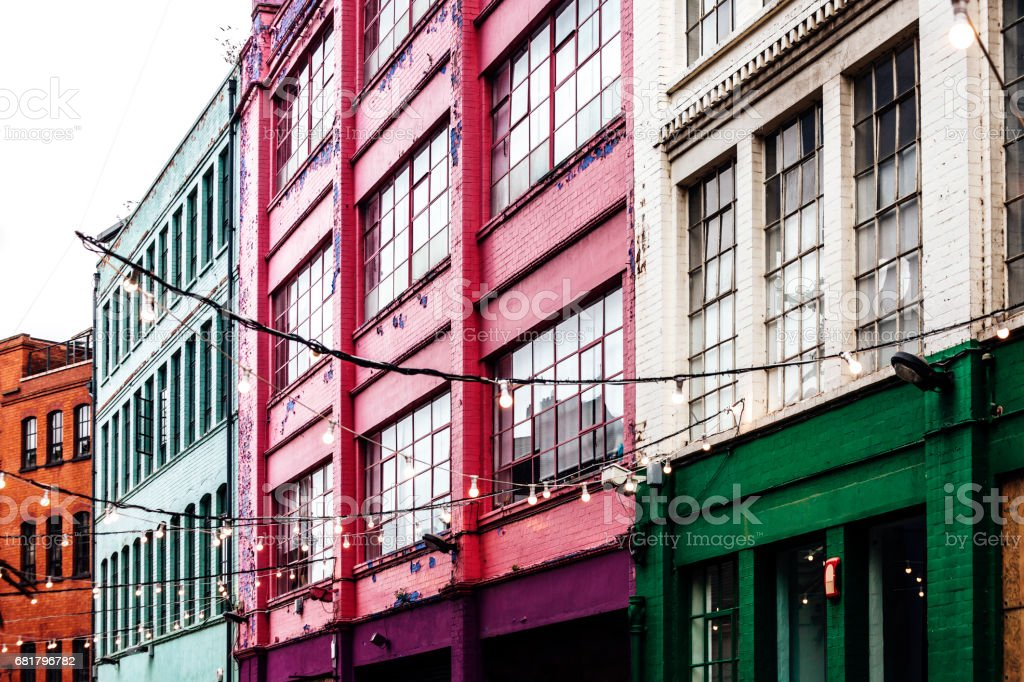 Quartier Custard Factory - Birmingham, UK – Foto