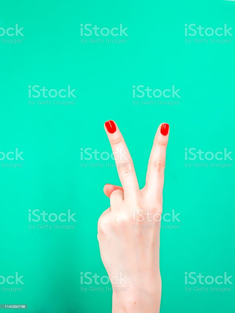 The Cut It Out Hand Sign. Use the cut-it-out hand sign when you want...