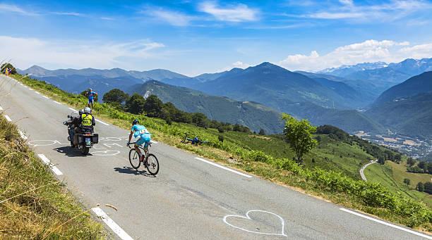 The Cyclist Andriy Grivko - Tour de France 2015 stock photo